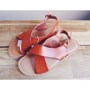 NWT Leather Sandals